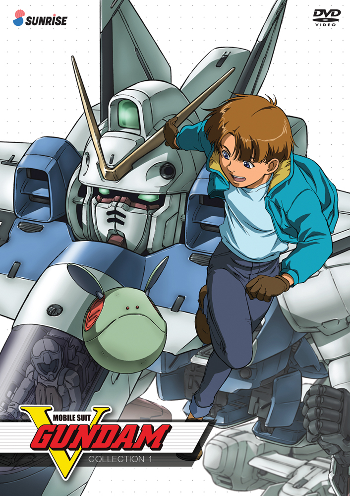 Mobile Suit V Gundam Collection 1 DVD 742617166822