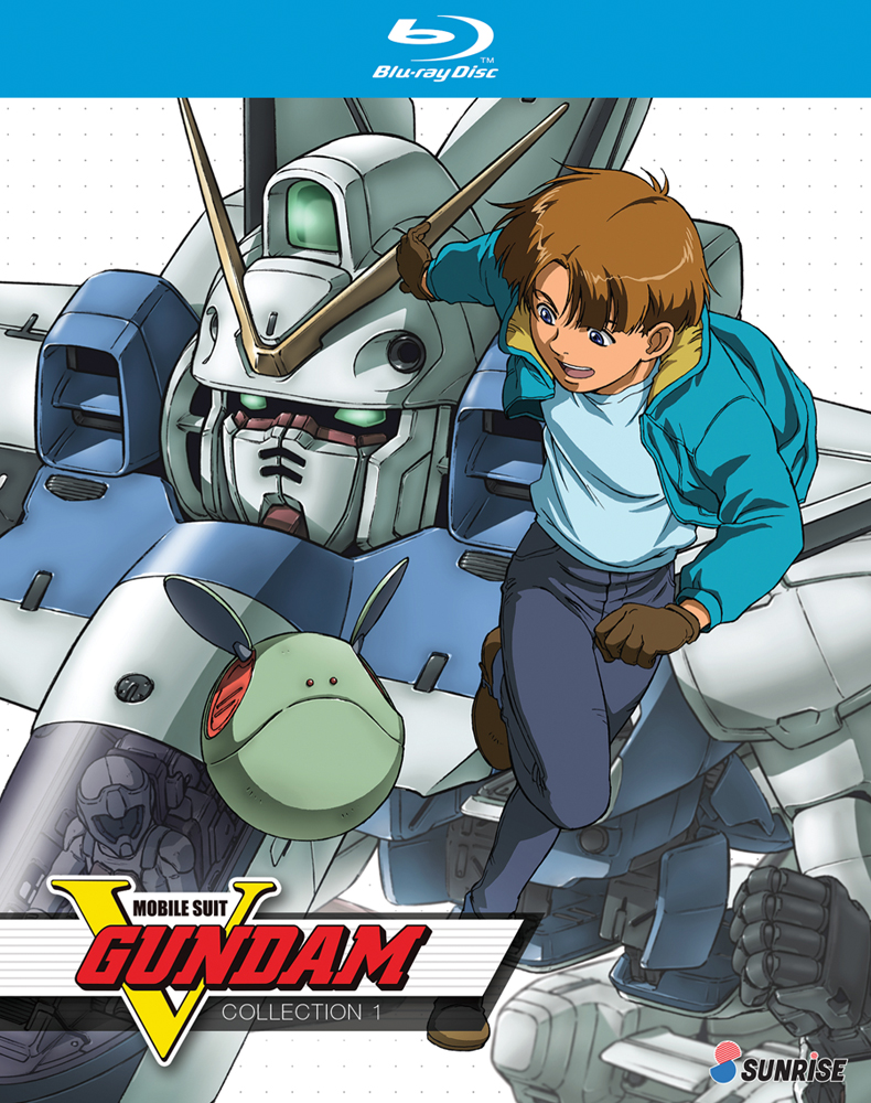 Mobile Suit V Gundam Collection 1 Blu-ray 742617167225