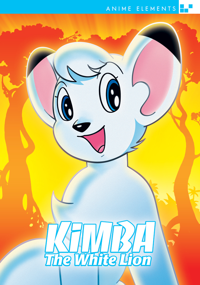 Kimba the White Lion DVD Anime Elements