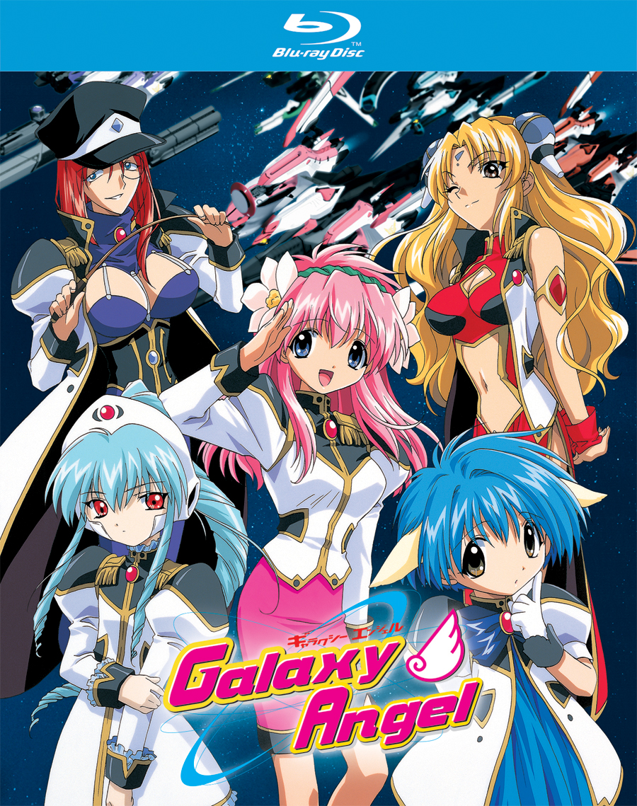 Galaxy Angel Blu-ray 742617170225