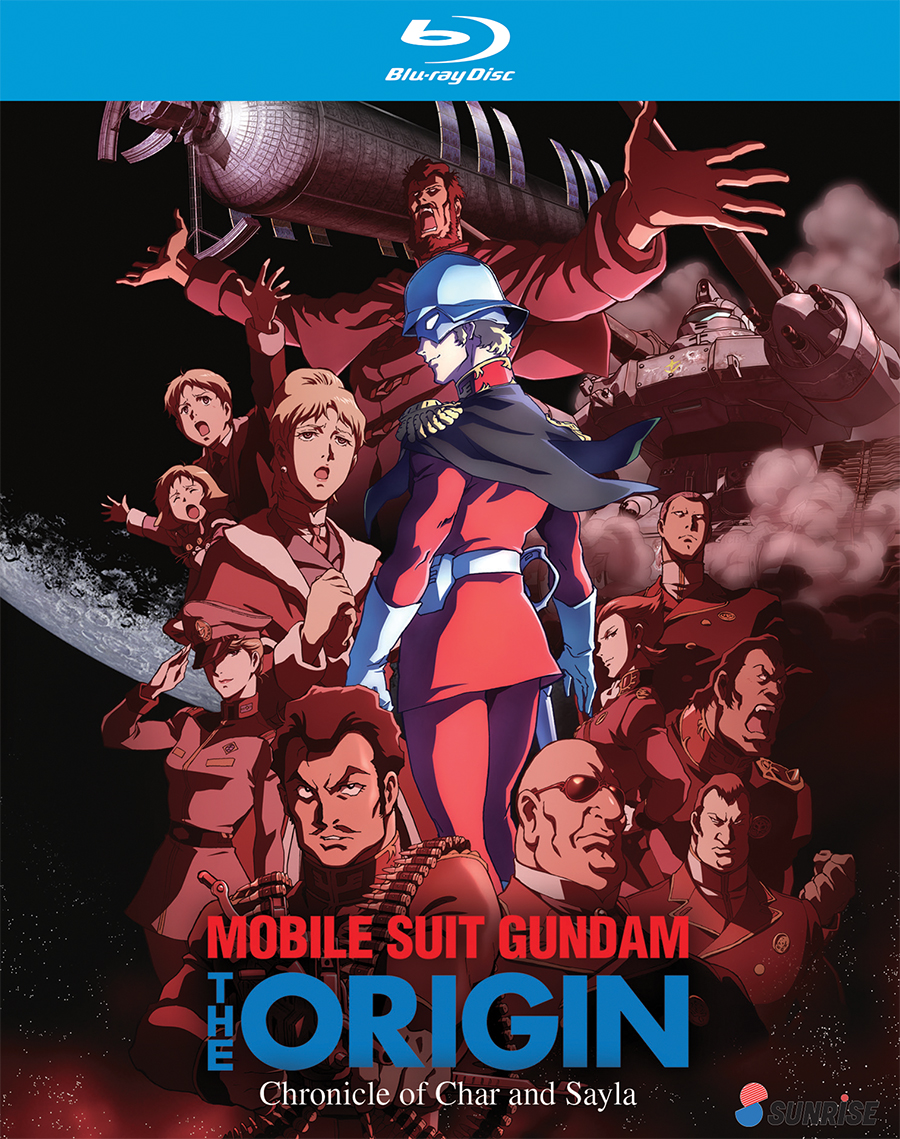 Mobile Suit Gundam The Origin Chronicle of Char and Sayla Collection Blu-Ray 742617173820