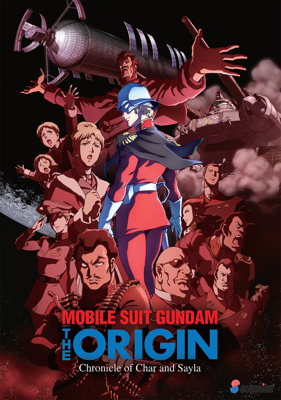Mobile Suit Gundam The Origin Chronicle of Char and Sayla DVD