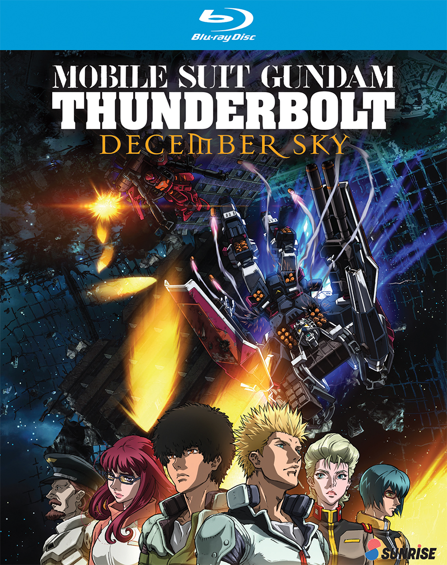 Mobile Suit Gundam Thunderbolt December Sky Blu-Ray 742617174421