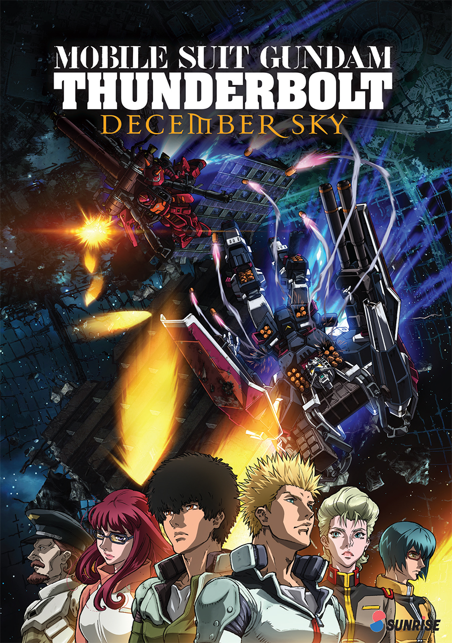 Mobile Suit Gundam Thunderbolt December Sky DVD