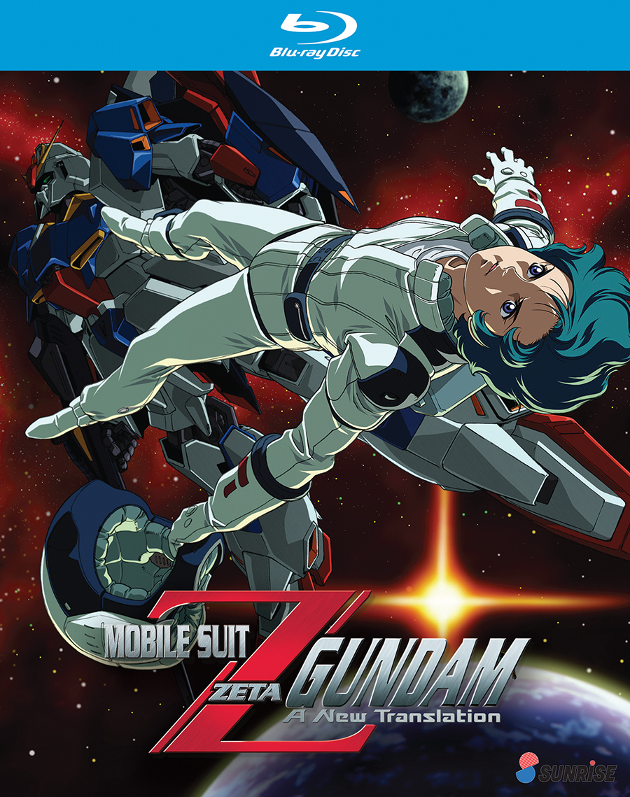 Mobile Suit Zeta Gundam A New Translation Blu-Ray 742617175220