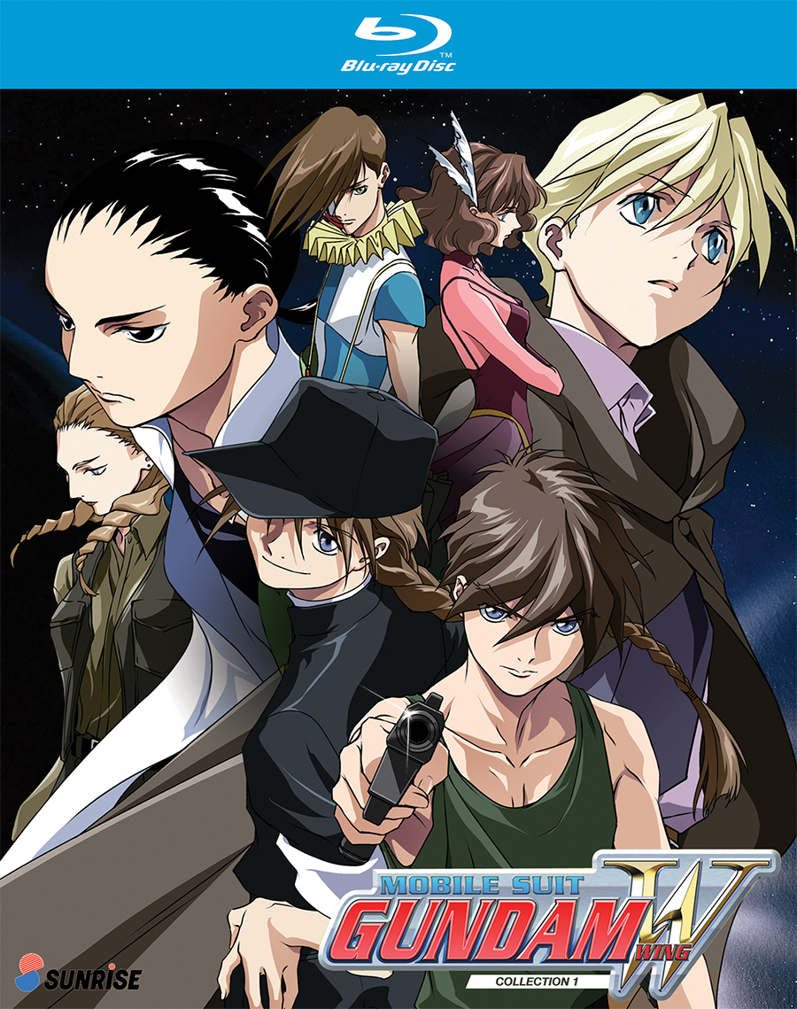 Mobile Suit Gundam Wing Collection 1 Blu-Ray 742617175428