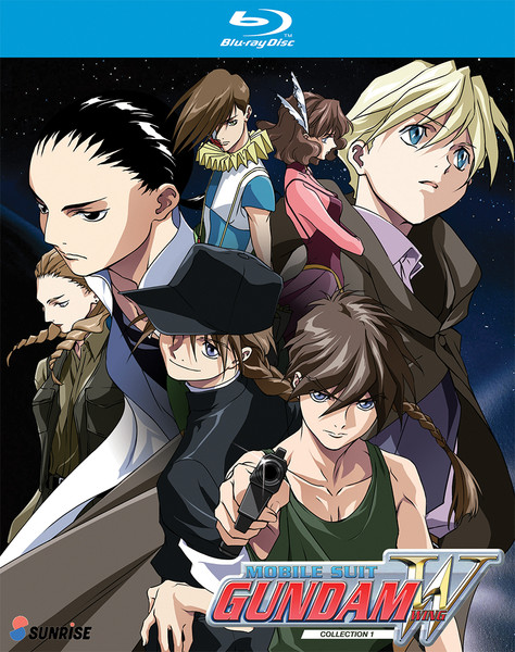 Mobile Suit Gundam Wing Collection 1 Blu-Ray