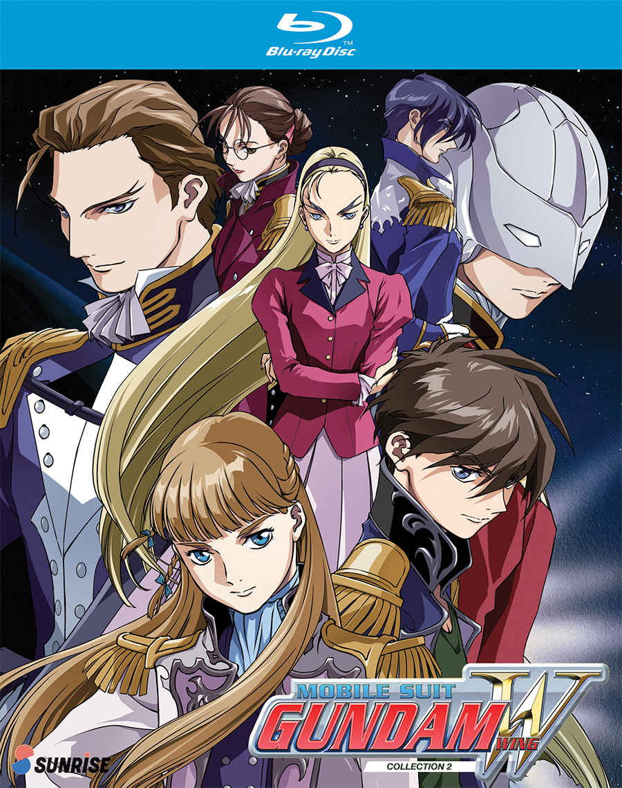 Mobile Suit Gundam Wing Collection 2 Blu-Ray 742617175824