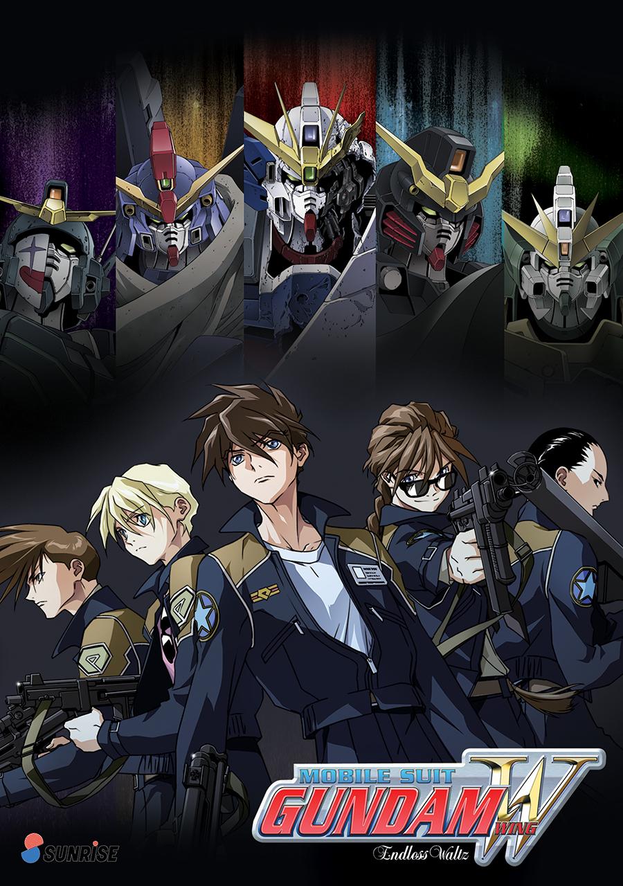 Mobile Suit Gundam Wing Endless Waltz DVD