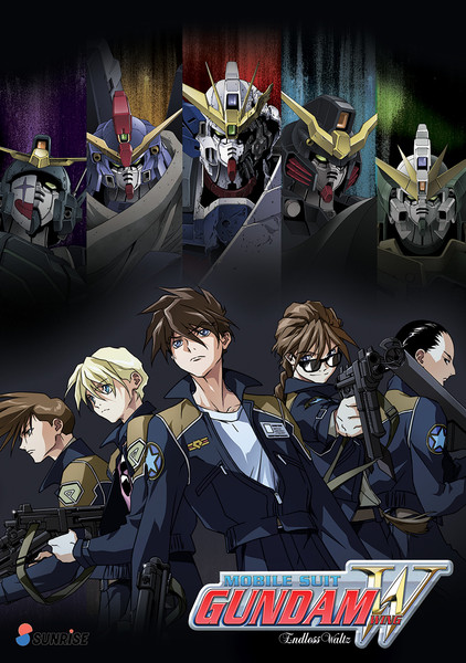 Mobile Suit Gundam Wing Endless Waltz DVD