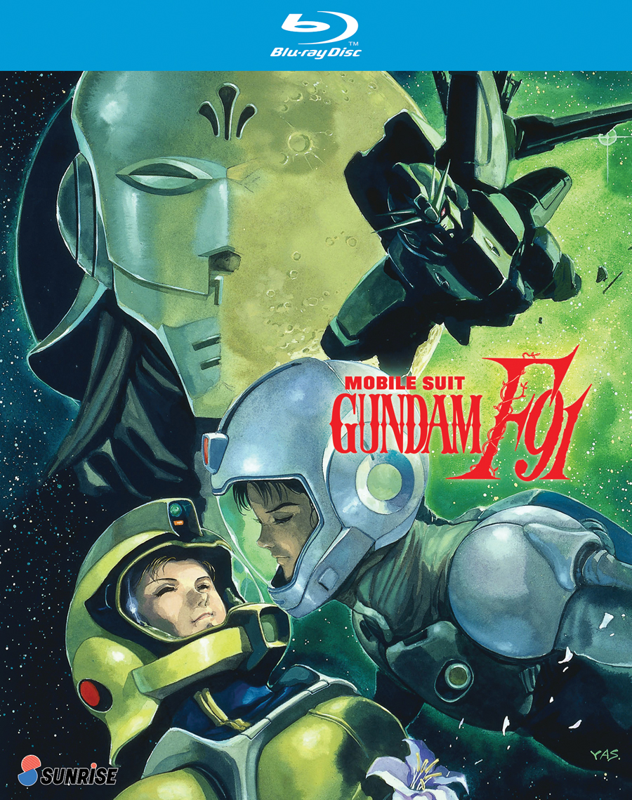 Mobile Suit Gundam F91 Blu-ray 742617178221
