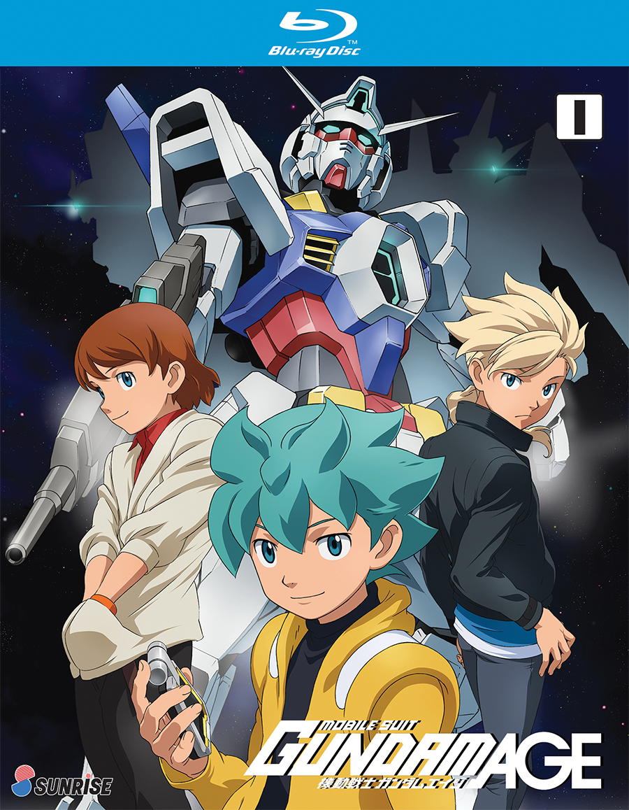Mobile Suit Gundam AGE Collection 1 Blu-ray 742617185427