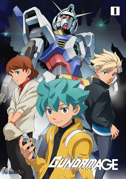 Mobile Suit Gundam AGE Collection 1 DVD