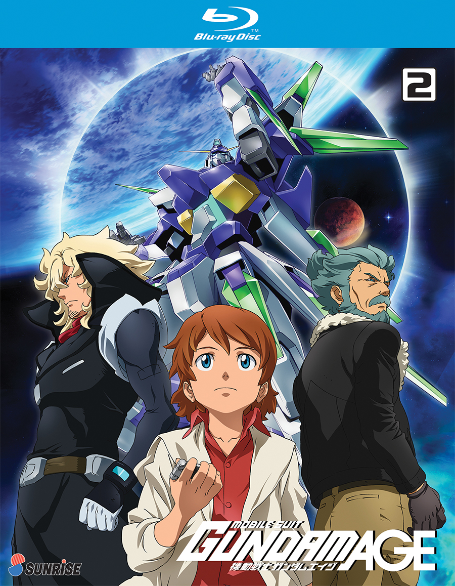 Mobile Suit Gundam AGE Collection 2 Blu-ray 742617185823