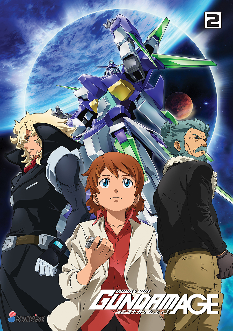 Mobile Suit Gundam AGE Collection 2 DVD
