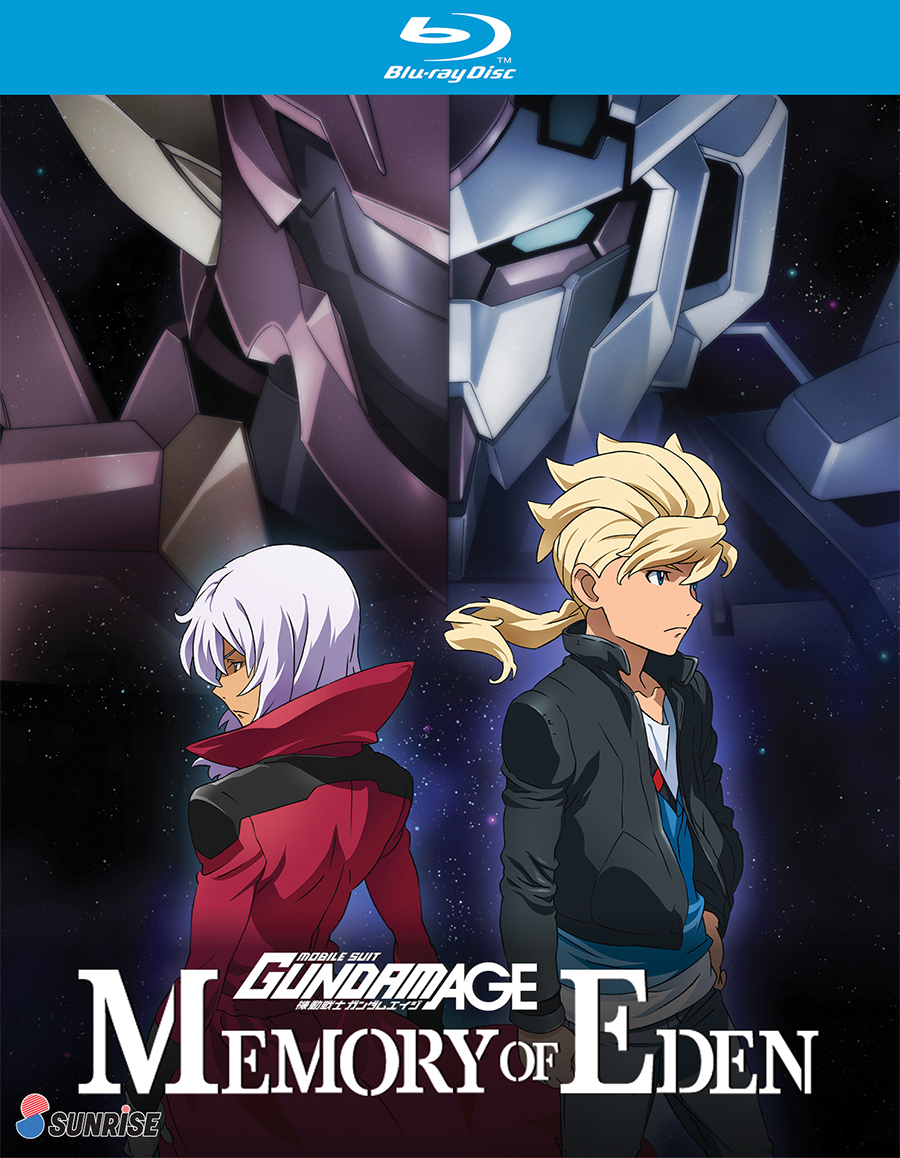Mobile Suit Gundam AGE Memory of Eden OVA Blu-ray