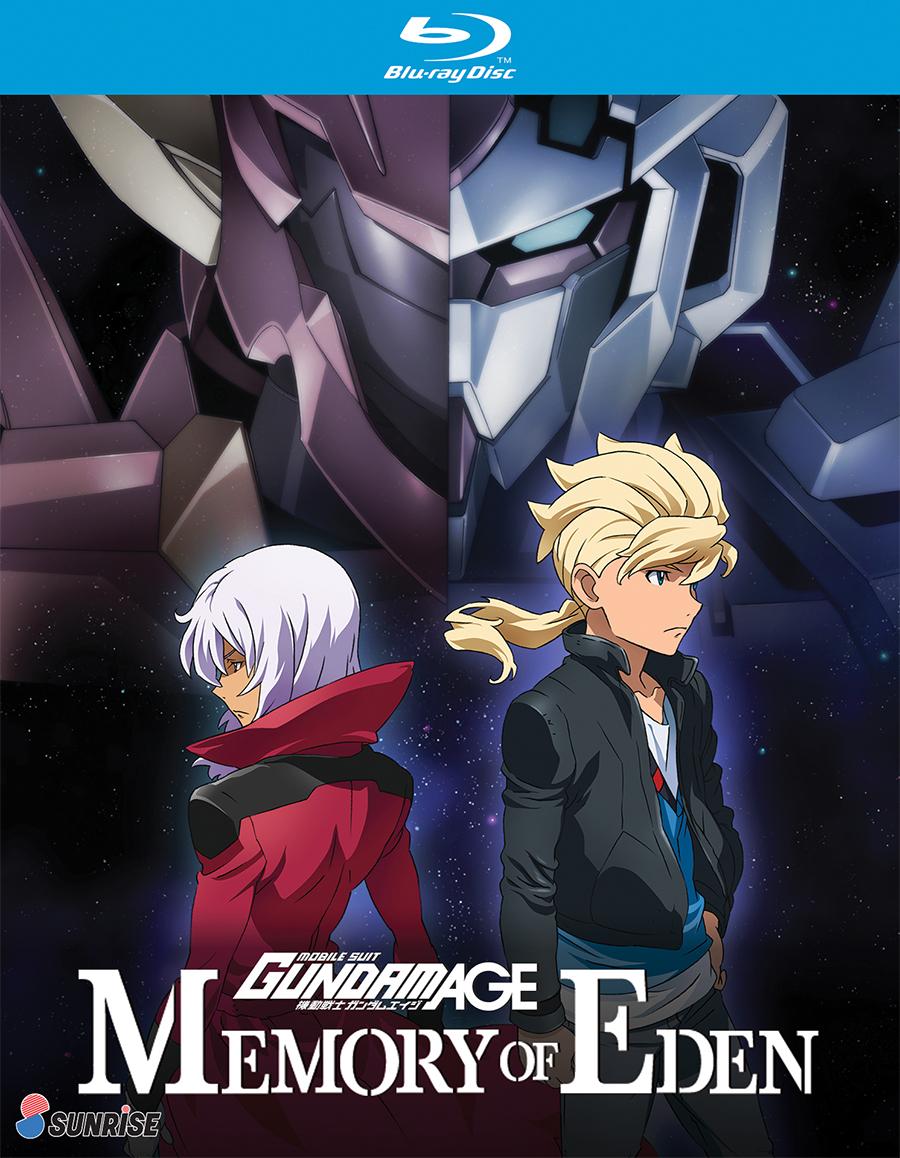 Mobile Suit Gundam AGE Memory of Eden OVA Blu-ray 742617186226