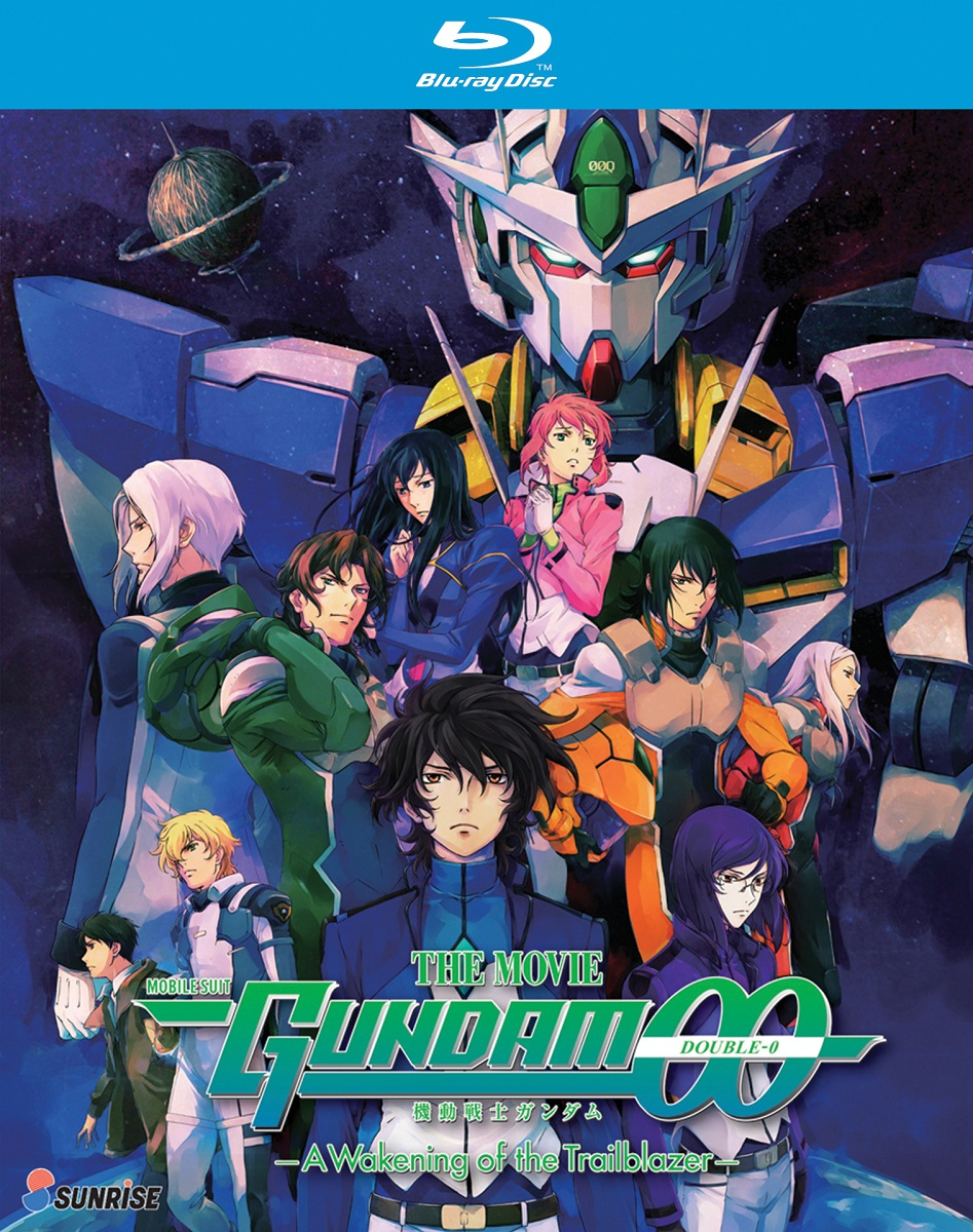 Mobile Suit Gundam 00 A Wakening of the Trailblazer Movie Blu-ray 742617187827