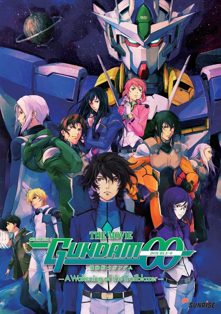 Mobile Suit Gundam 00 A Wakening of the Trailblazer Movie DVD 742617188022