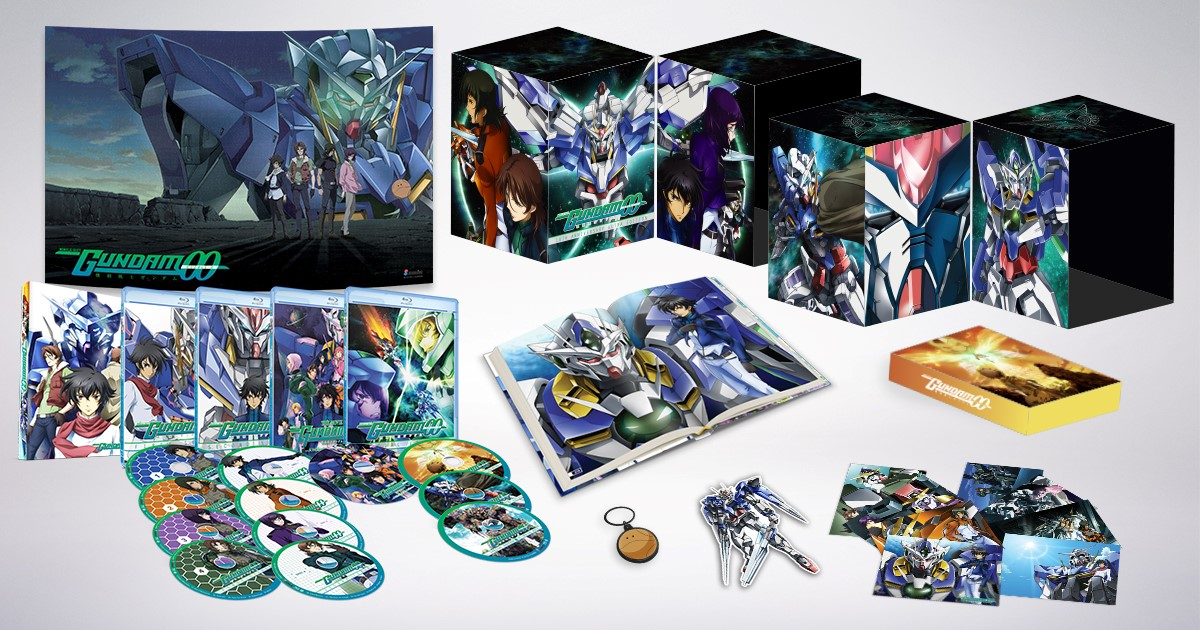 Mobile Suit Gundam 00 10th Anniversary Ultra Edition Blu-ray 742617188824