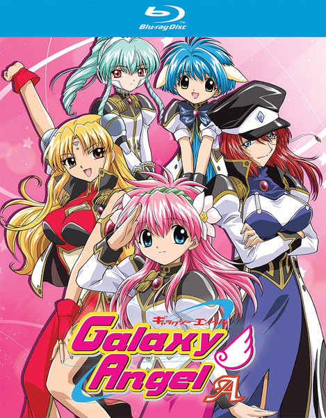 Galaxy Angel A Blu-ray
