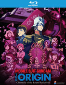 Mobile Suit Gundam The Origin Chronicle of the Loum Battlefield Collection Blu-Ray
