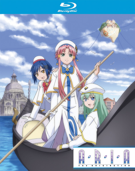 Aria the Origination Season 3 + OVA's Blu-ray