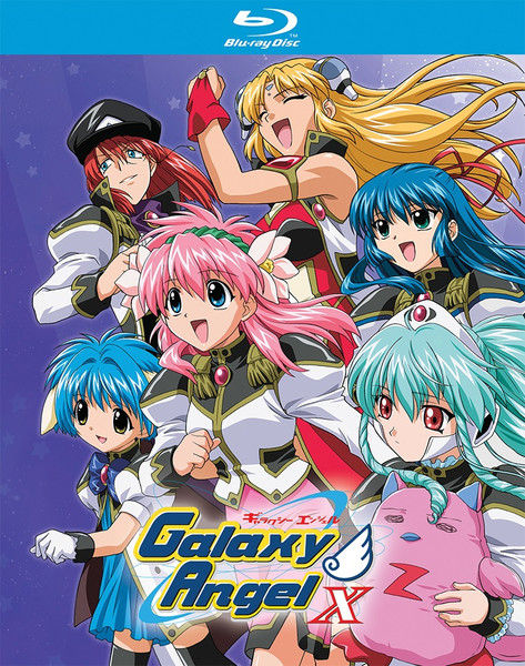 Galaxy Angel X Blu-ray
