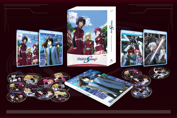 Mobile Suit Gundam SEED Destiny Collector's Ultra Edition Blu-ray