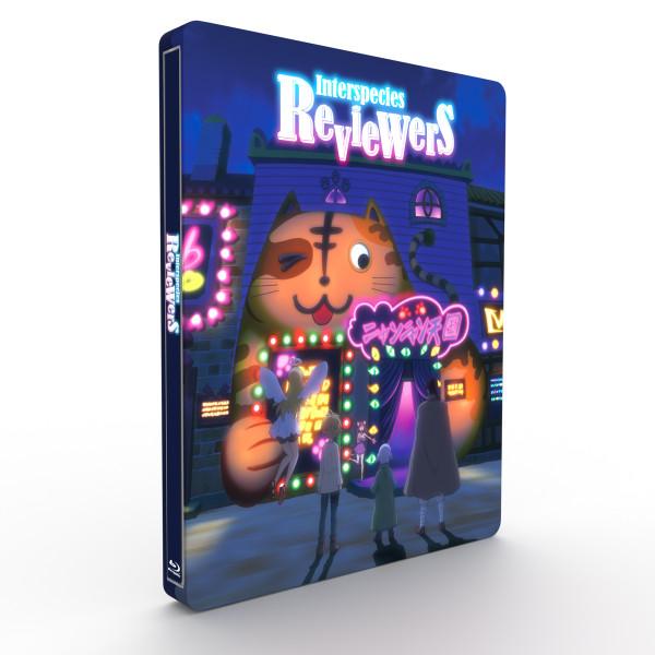 Interspecies Reviewers Steelbook Blu-ray