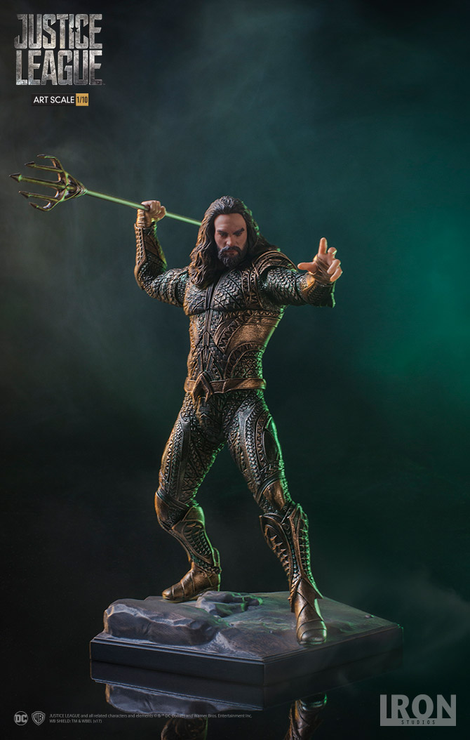 Aquaman Justice League Figure 751320300775