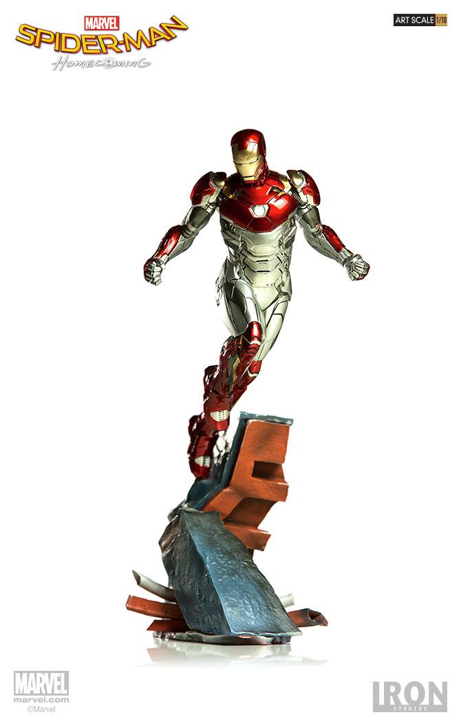 Iron Man Mark XLVII Spider-Man Homecoming Diorama Figure 751320300843