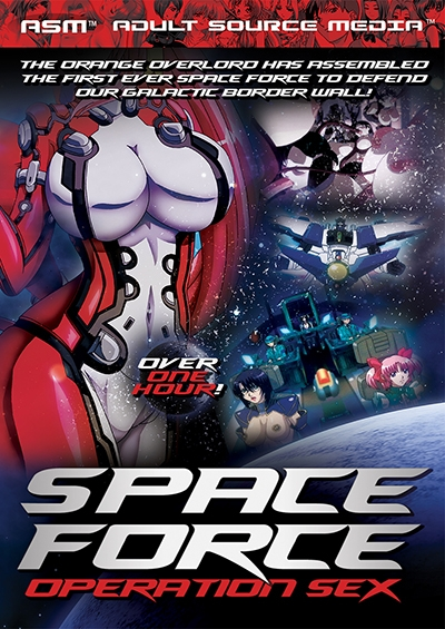 Space Force Operation Sex DVD