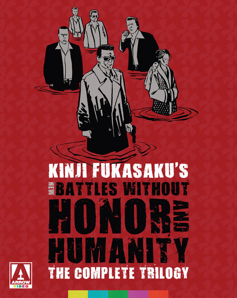 New Battles Without Honor and Humanity The Complete Trilogy Limited Edition Blu-ray/DVD