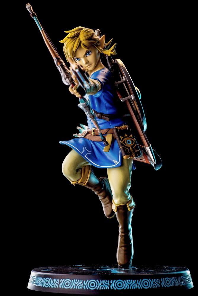 Link The Legend of Zelda Breath of the Wild Figure