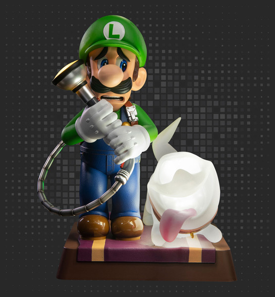 Luigi Collector's Edition Luigi's Mansion 3 Statue Figure