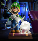 Luigi Collector's Edition Luigi's Mansion 3 Statue Figure