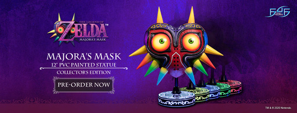 Majora's Mask The Legend of Zelda Statue Collector's Edition Figure