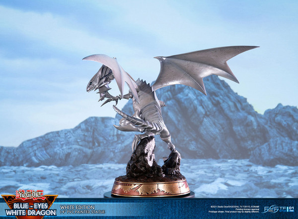 Blue-Eyes White Dragon White Variant Ver Yu-Gi-Oh! Statue