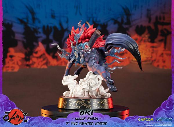 Oki Wolf Form Ver Okami Figure