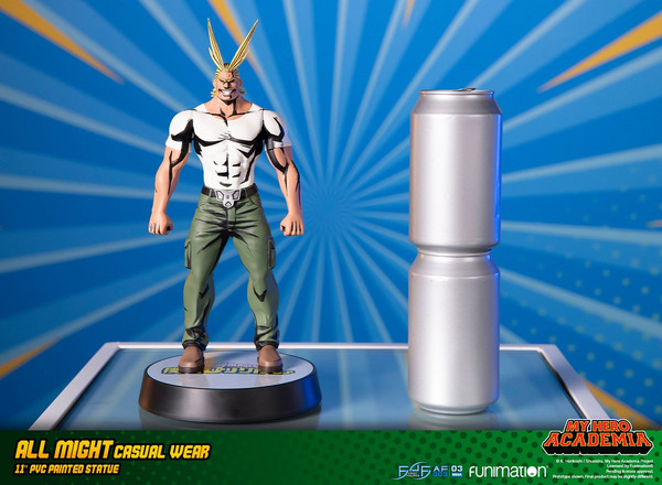 All Might Casual Wear Ver My Hero Academia PVC Statue Figure