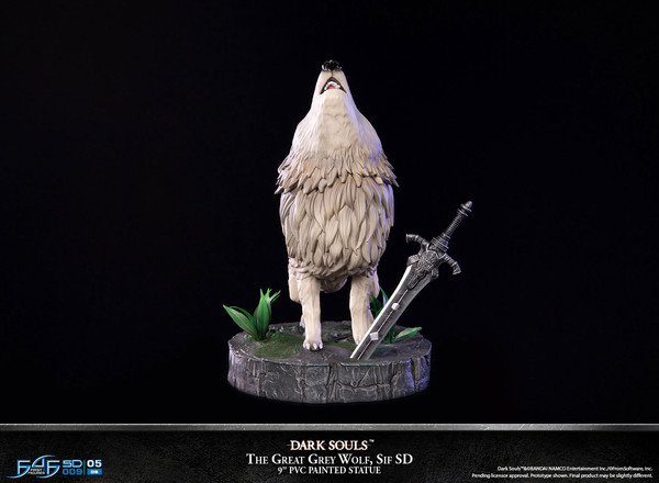 The Great Grey Wolf Sif Dark Souls Figure