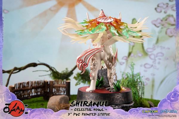 Shiranui Celestial Howl Ver Okami Figure