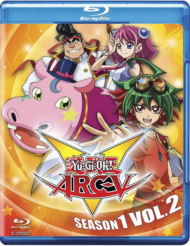 YuGiOh Arc V Season 1 Volume 2 Blu-ray 767685152911