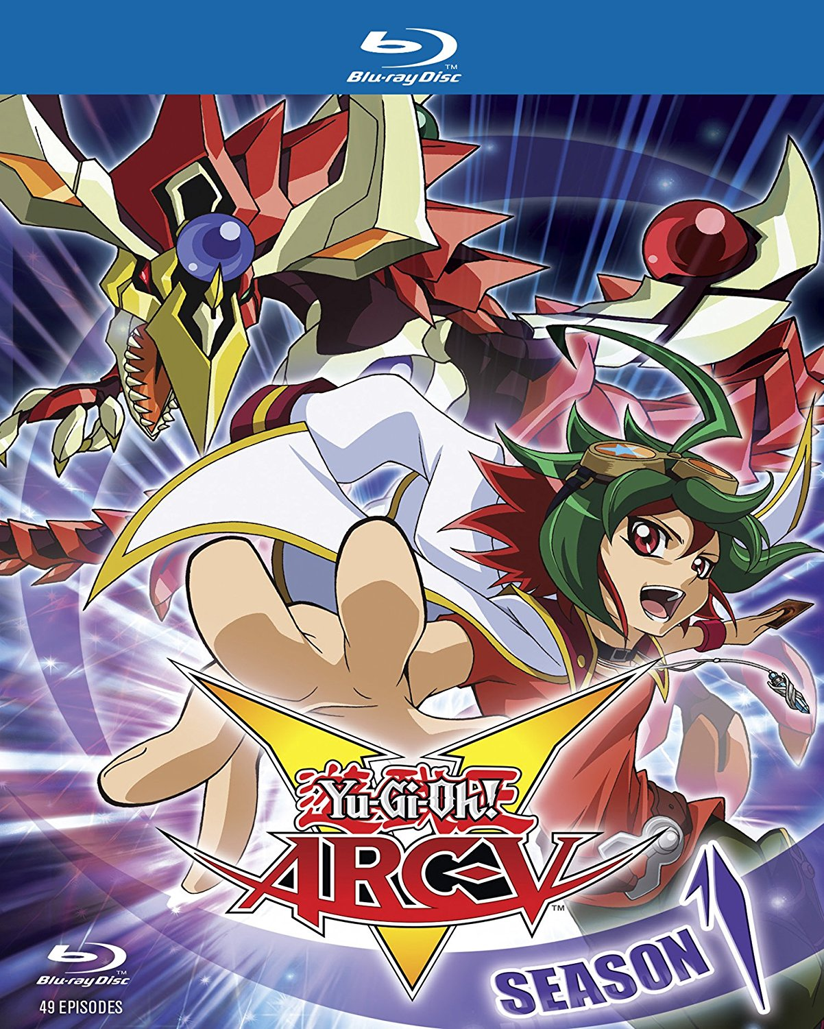 YuGiOh Arc V Season 1 Complete Collection Blu-ray 767685152928