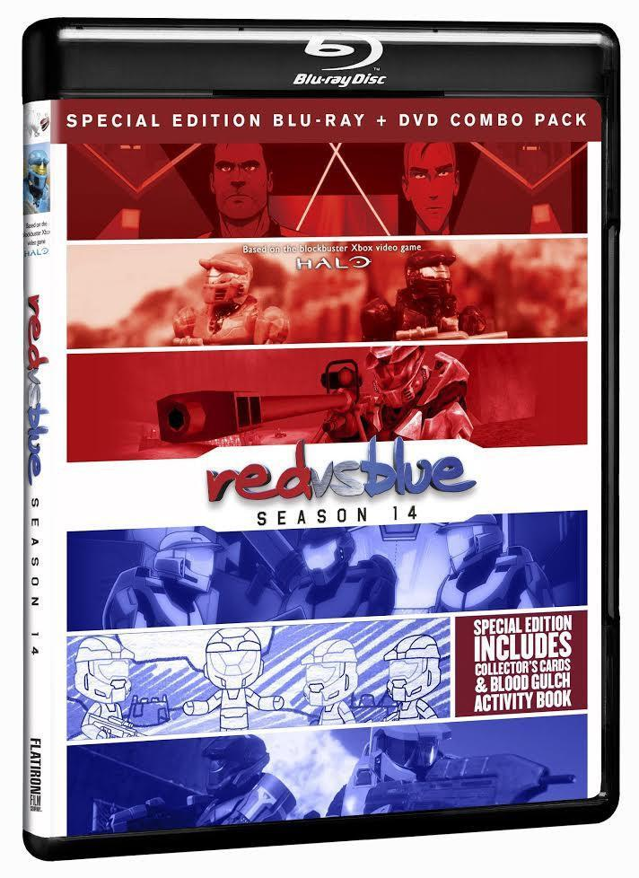 Red Vs Blue Season 14 Special Edition Blu-ray/DVD 767685153031