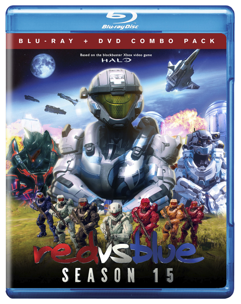 Red Vs Blue Season 15 Blu-ray/DVD 767685156254