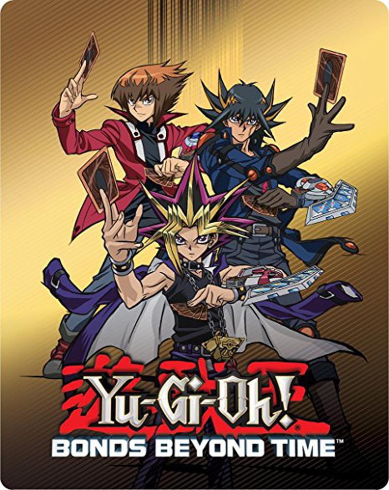 Yu-Gi-Oh! Bonds Beyond Time Steelbook Blu-ray 767685157343