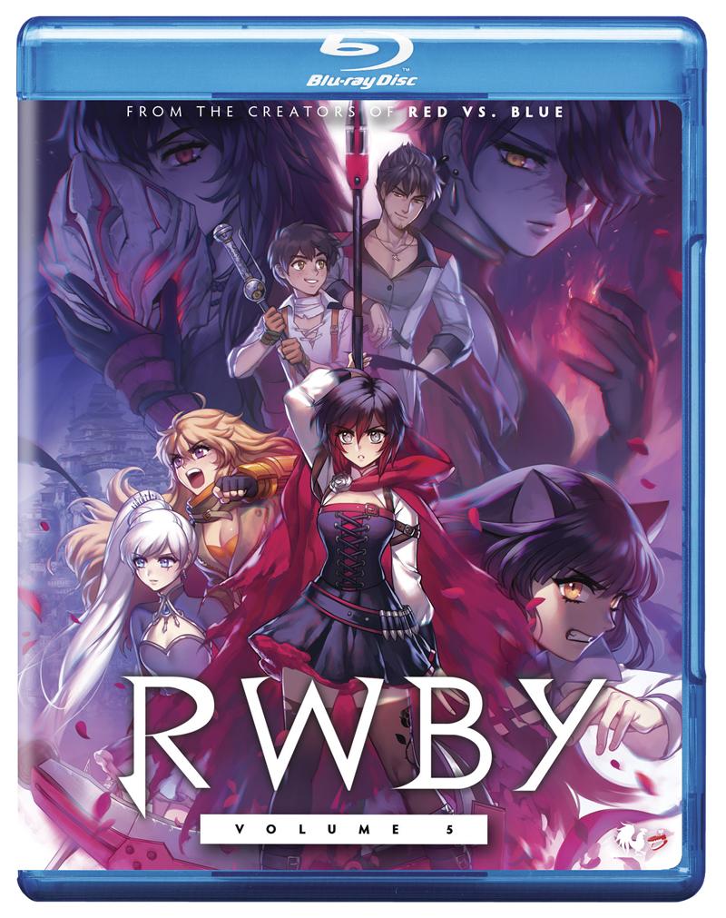 RWBY Volume 5 Blu-ray 767685157633