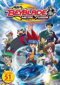 Beyblade Metal Fusion DVD